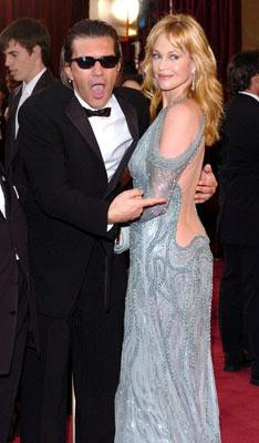 Antonio Banderas and Melanie Griffith 77th Annual Academy Awards - Arrivals Hollywood, CA - 2/27/05