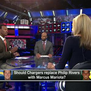 Should the San Diego Chargers replace Philip Rivers with Marcus Mariota at quarterback?