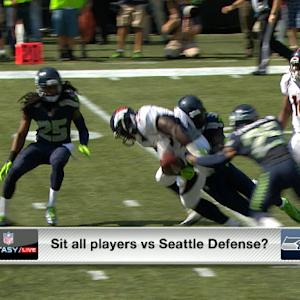 'NFL Fantasy Live': Who to start against Seattle's defense social segment