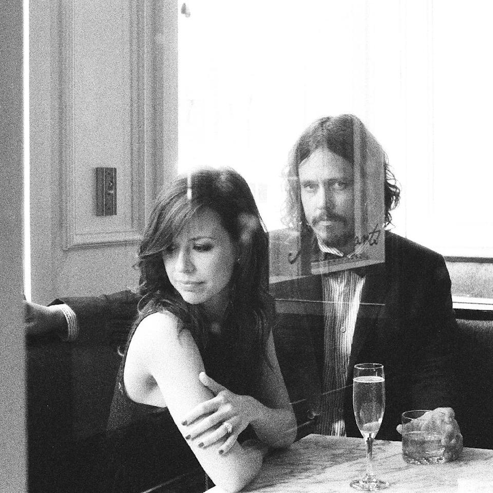 "In this CD cover image released by Sensibility Music, the latest release by The Civil Wars ""Barton Hollow,"" is shown. (AP Photo/Sensibility Music)"