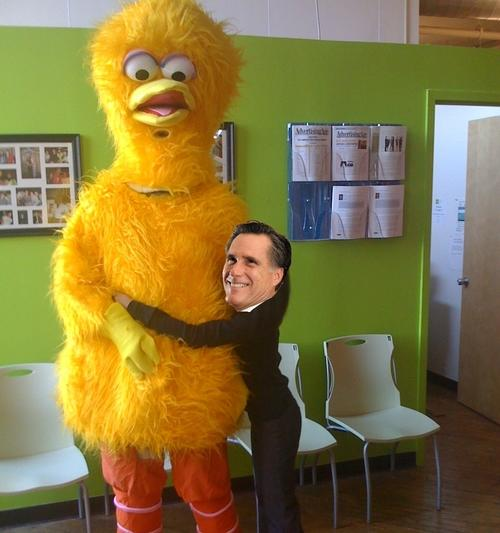 Romney vs. Big Bird: Internet Defends Scorned Muppet