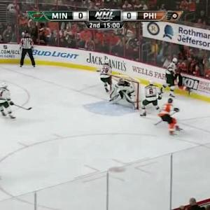 Nino Niederreiter Hit on Brayden Schenn (05:00/2nd)