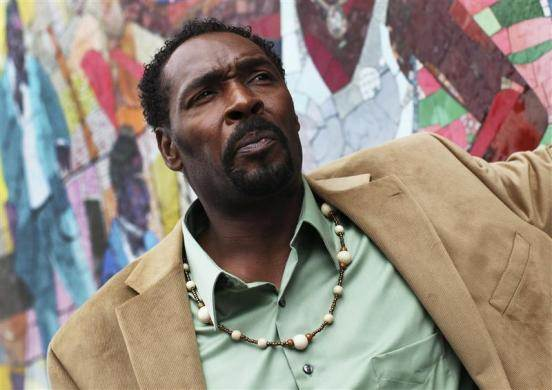 """Rodney King poses for a portrait after a book signing of his book """" The Riot Within: My Journey from Rebellion to Redemption """" in New York"""