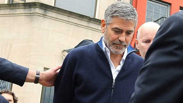 George Clooney Arrested While Protesting Outside The Sudanese Embassy  -- Getty Images