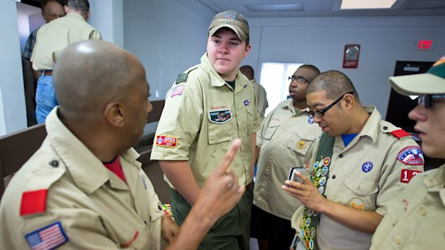 Kansas Boy Scout Merits All 132 Badges (ABC News)