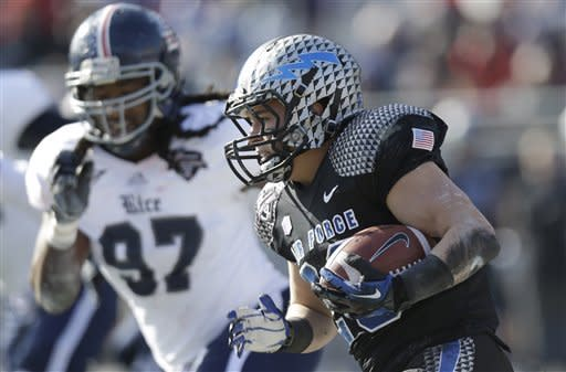 Rice wins Armed Forces Bowl, 33-14 over Air Force