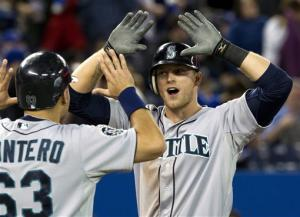 Saunders grand slam leads Mariners past Blue Jays