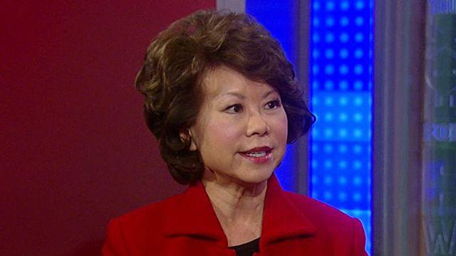 Elaine Chao reacts to latest jobs numbers