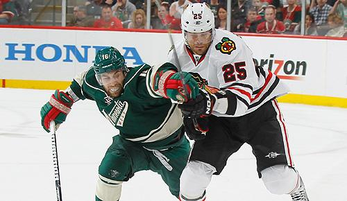 NHL playoffs: Chicago Blackhawks vs. Minnesota Wild