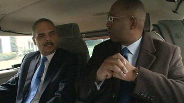 is eric holder gay