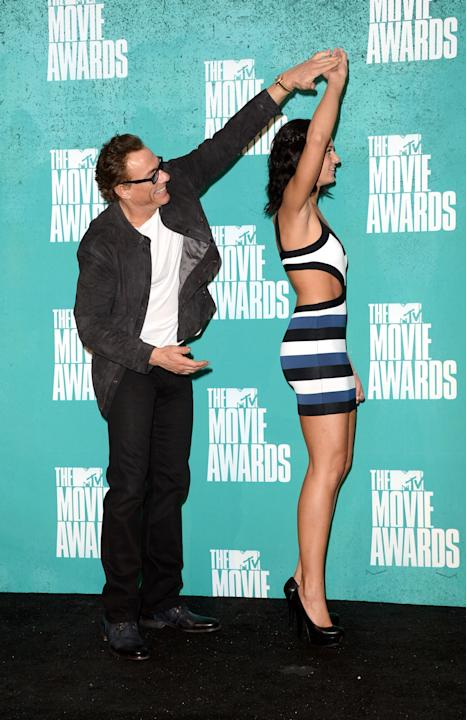 2012 MTV Movie Awards - Press Room