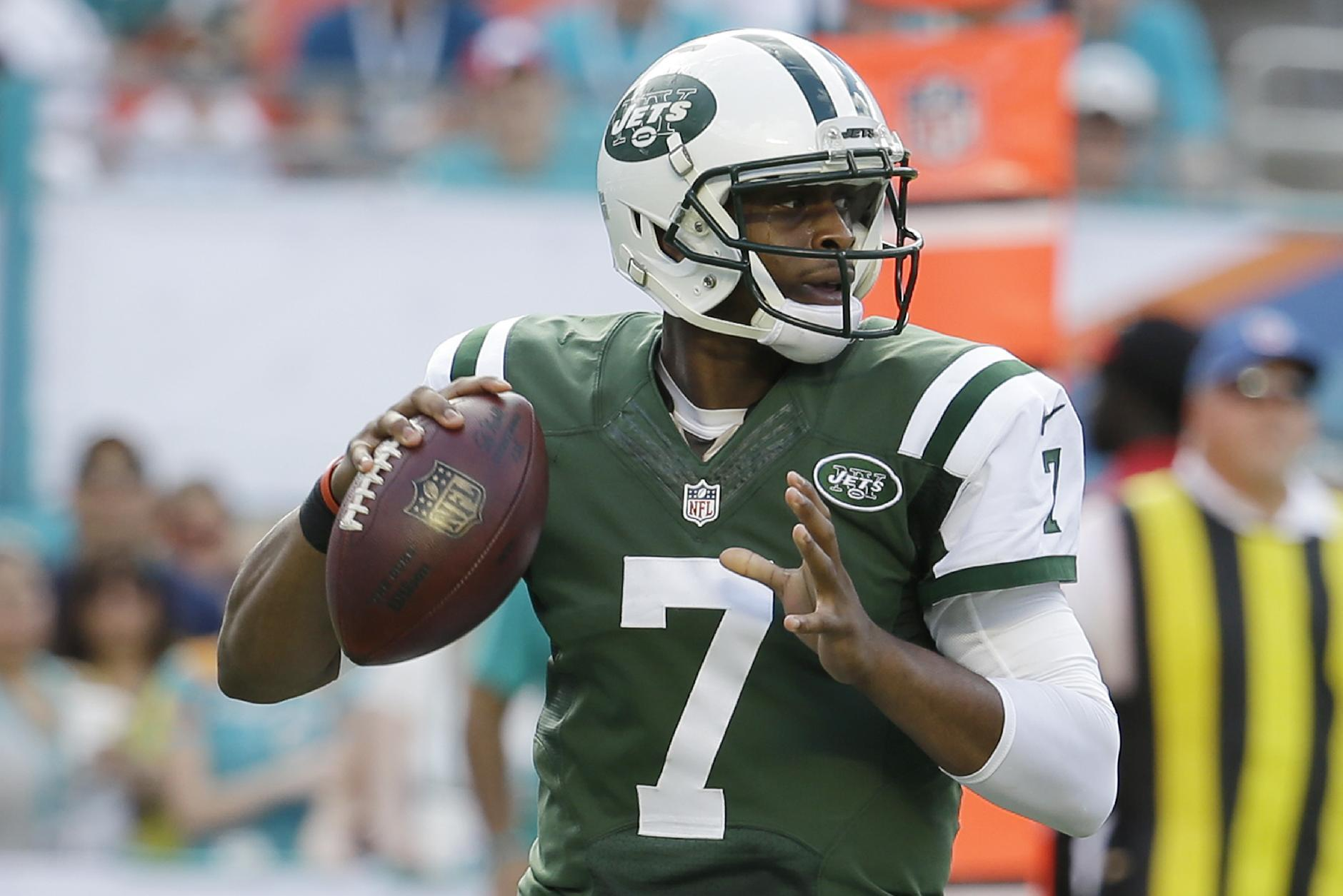 Jets OC Chan Gailey says Geno Smith is team's starting QB