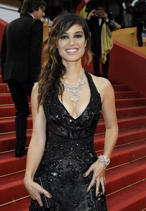 Actress Berenice Marlohe arrives for the screening of Love at the 65th international film festival, in Cannes, southern France, Sunday, May 20, 2012. (AP Photo/Francois Mori)