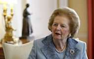 Seven suits belonging to former British Prime Minister Margaret Thatcher, pictured in 2010, including the one worn on the day she was confirmed as Conservative party leader, fetched 73,000 at a London sale on Monday