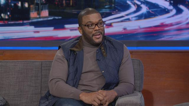 Tyler Perry Shares His First Oprah Story