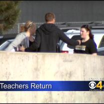 Arapahoe High Teachers Return To Campus