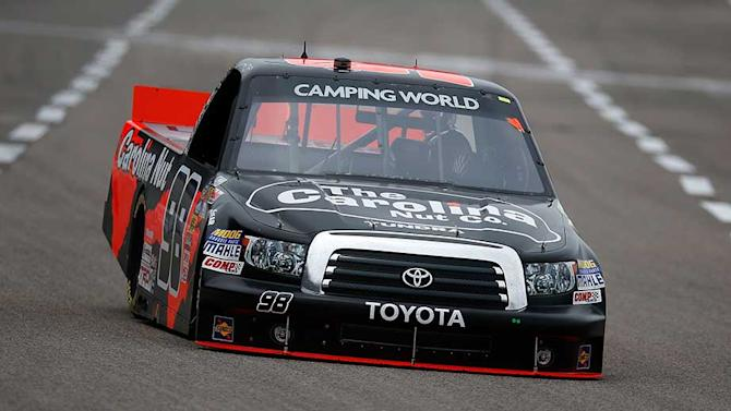 Sauter wins Truck pole in Texas