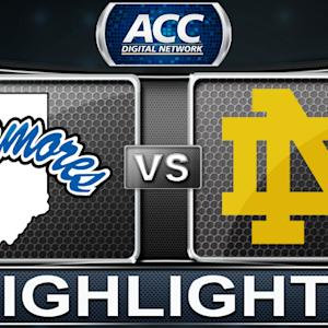 Indiana State vs Notre Dame | 2013 ACC Basketball Highlights