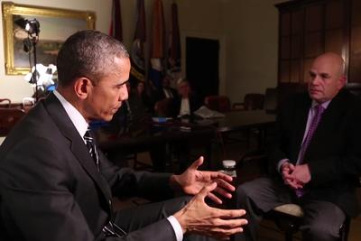 President Obama talks to David Simon about The Wire and the war on drugs
