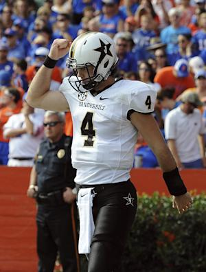 Vandy beats Florida 34-17, snaps series streak