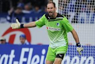 Goalkeeper Tom Starke, pictured in 2011, has signed a three-year deal to switch from Hoffenheim to Champions League finalists Bayern Munich, his new club confirmed Wednesday