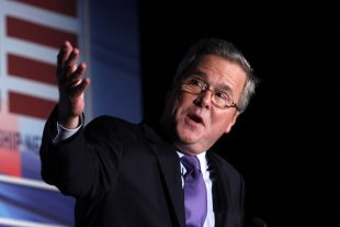 Jeb: Papa George doesn't think we've had enough Bushes in White House