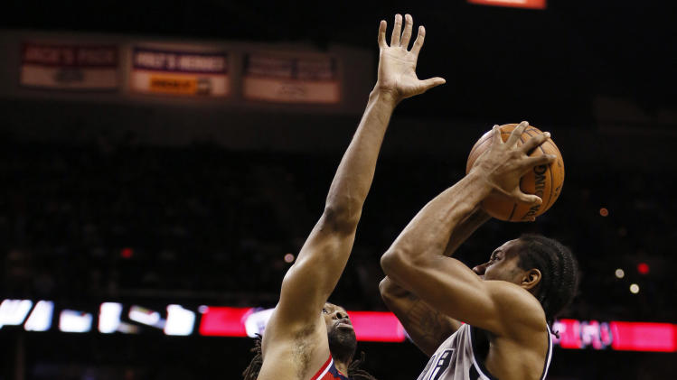NBA: Washington Wizards at San Antonio Spurs