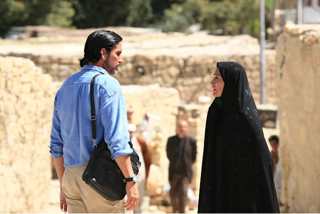 Jim Caviezel Shohreh Aghdashloo The Stoning of Soraya M. Production Stills Roadside Attractions 2009