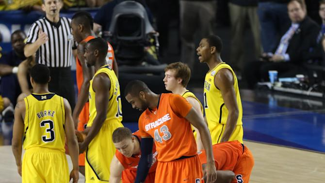 NCAA Tournament-Michigan vs Syracuse