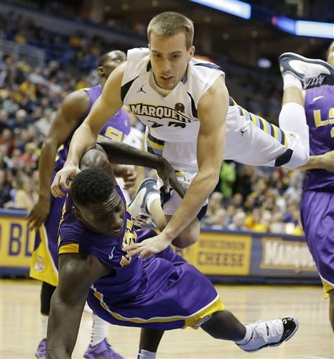 Gardner leads Marquette past LSU for 84-80 victory