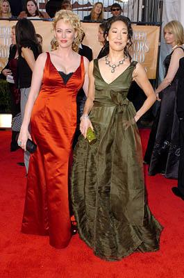 Virginia Madsen and Sandra Oh Screen Actors Guild Awards - 2/5/2005