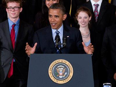 Obama: Student loan rate a 'no-brainer'