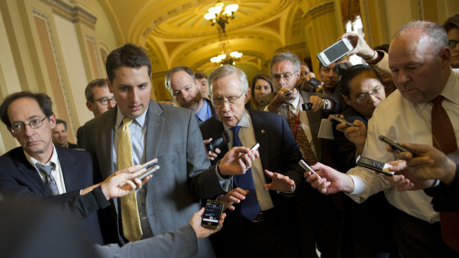 Shutdown deal in sight? Reid, McConnell optimistic