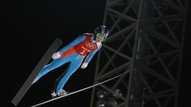 Olympics: Ski Jumping-Ladies' Normal Hill Individual Official Training