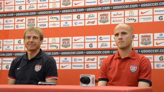 Soccer: World Cup Qualifying-USA Press Conference