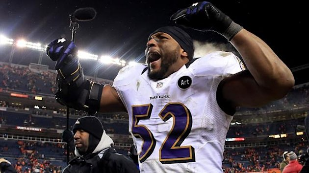 2013 NFL Playoffs Baltimore Ravens Ray Lewis