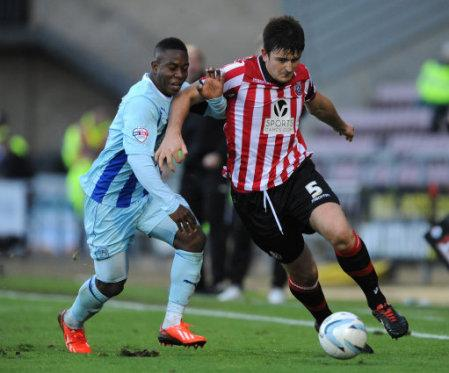 Soccer - Sky Bet League One - Coventry City v Sheffield United - Sixfields Stadium