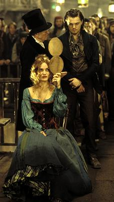 Cameron Diaz and Leonardo DiCaprio in Miramax's Gangs of New York