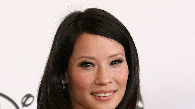 Lucy Liu arrives at the ABC Summer Press Tour Party at the Beverly Hilton Hotel on July 26, 2007.