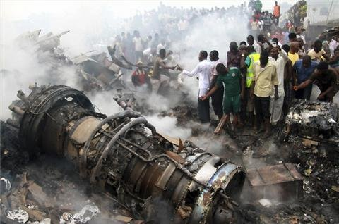 Nigeria declares mourning after air crash