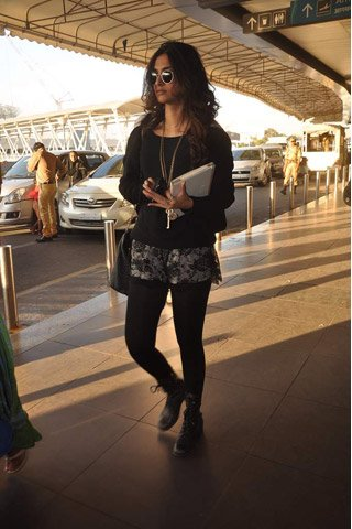 Celebrity Inspiration: Airport Style