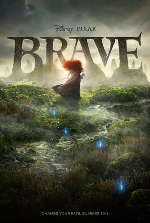 Brave Disney Pixar 2011 Poster