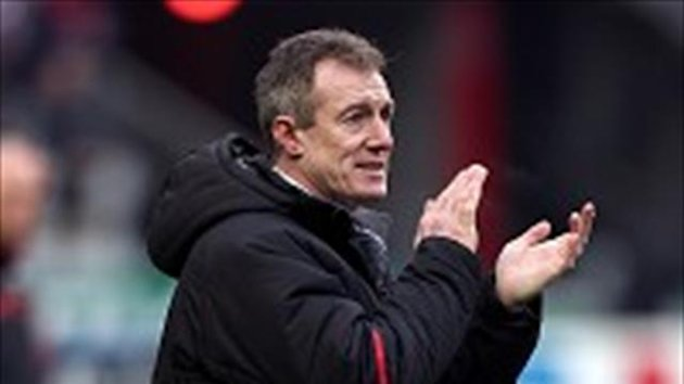 Rob Howley was a happy man after Wales' win over France