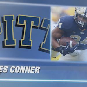 James Conner Shatters Pitt Rushing Record | Best of James Conner