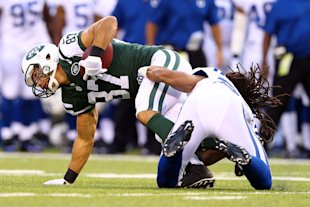 Expecting a crash landing for Decker with the Jets? Think again. (Getty)