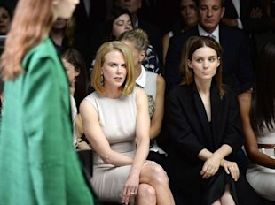 Nicole Kidman at New York Fashion Week