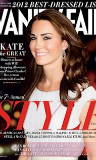 Kate Middleton Tops Vanity Fair's Best Dressed List