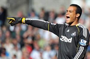'I am very happy at Swansea' - Vorm denies exit rumors