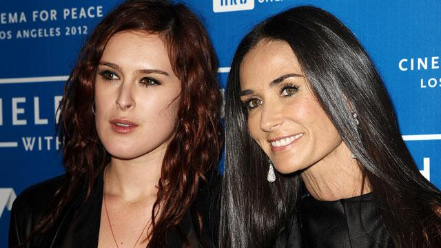 Demi Moore's Daughters Cope with Mom's Rehab