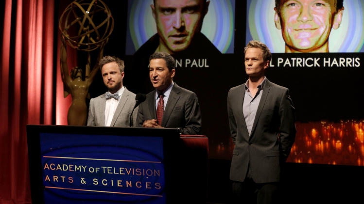 Neil Patrick Harris steps in as host for Emmy noms